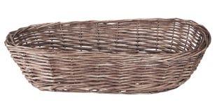 Wood basket Royalty Free Stock Images