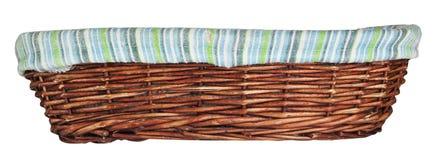 Wood basket Stock Photos