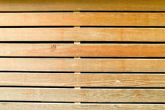 The wood batten Stock Photography