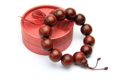 Wood bead Royalty Free Stock Image