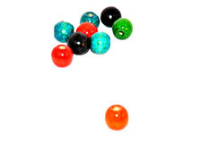 Wood Beads Stock Images