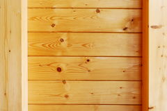 Wood beam ceiling Royalty Free Stock Images