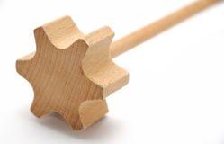 Wood beater Stock Image