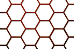Wood Bee Hive Background 2. There is a wood bee hive background Royalty Free Stock Photography
