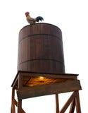 Wood beer tank Royalty Free Stock Image