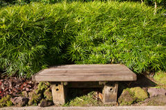Wood Bench Stock Images
