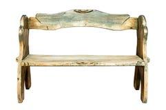 Wood bench Stock Image