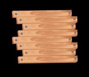 Wood billboard Stock Image