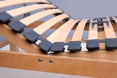 wood björklatoflexslats Arkivfoto