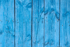 Wood blå panelbakgrund för textur Arkivbilder