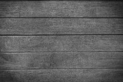 Wood black wall plank background Stock Image