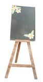 Wood blackboard. A wood blackboard isolated on white background Royalty Free Stock Image