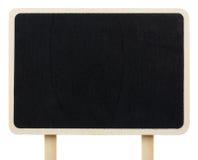Wood blackboard Stock Image