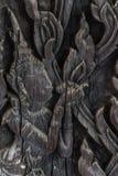 Wood. Blackground  carve handmade black Royalty Free Stock Photography