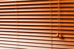 Wood Blinds Stock Images