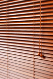 Wood Blinds Royalty Free Stock Photo