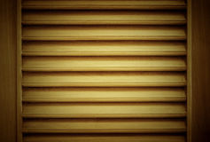 Wood blinds closeup Royalty Free Stock Photo