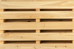 Wood block. The close-up of wooden crate Stock Image