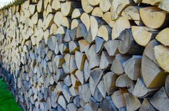 Wood block background Stock Image