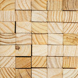 Wood block background Stock Photography
