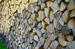 Wood block background Stock Images