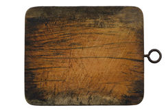 Wood block isolated Royalty Free Stock Photography