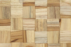 Wood block square texture Stock Photo