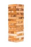 Wood block tower Royalty Free Stock Photos