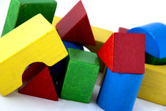 Wood blocks Stock Photo