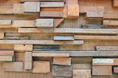 Wood blocks Royalty Free Stock Photography