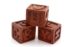 Wood blocks Stock Photos