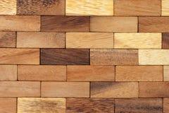 Wood blocks background 2 Stock Photos