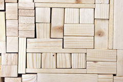 Wood blocks background Royalty Free Stock Photography