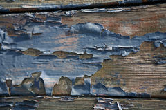 Wood blue texture Royalty Free Stock Images