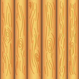 Wood board background. Vector flat pattern Royalty Free Stock Image