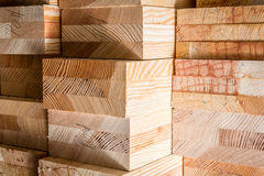 Wood board. S with blurred background Royalty Free Stock Photos