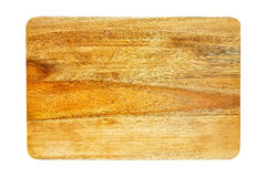 Wood board isolated Royalty Free Stock Photos