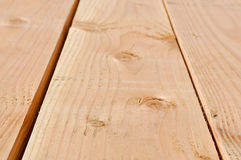 Wood Board Perspective Stock Photo