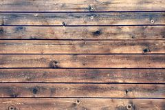 Wood Board Plank Panel Brown Background, XXXL Royalty Free Stock Photos