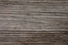 Wood board texture. Closeup, weathered, pressure treated, wooden deck plank board, could be used as a background royalty free stock photos