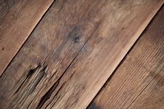 Wood board weathered with scratch texture background Royalty Free Stock Photo