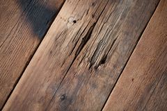 Wood board weathered with scratch texture background Stock Photography