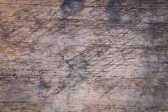 Wood board weathered with scratch texture Stock Image