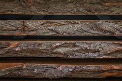Wood boards. With blurred background Royalty Free Stock Photos