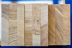 Wood boards. With blurred background Royalty Free Stock Images