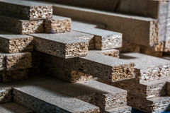 Wood boards. With blurred background Royalty Free Stock Photography