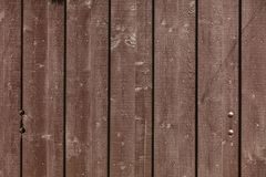 Wood boards texture. Brown planks as background Royalty Free Stock Images