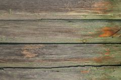 Wood boards texure Stock Photography