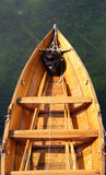Wood boat Stock Photography