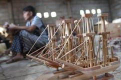 Wood boat craft Stock Photo
